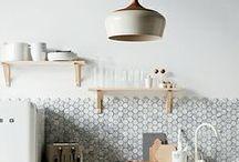 k i t c h e n / Kitchen designs I like. / by Lisa Fontaine