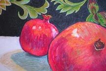 Pomegranates / by Valerie Kamikubo