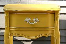 pretty painted furniture / by lindsey brogli