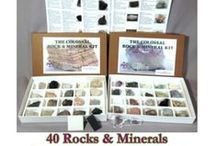 Rock and Mineral Kits / Our favorite rock and mineral kits for schools, kids and adults. We are also including great accessories that help identify the different rocks and minerals.