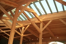 Timber frames and glass