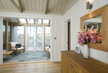Painted timber interiors