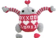 Valentines @ A Good Yarn / What's LOVE without a bit of knitting and crochet?