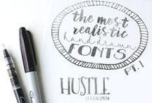✤ Lettertypes, Dingbats & Icoontjes