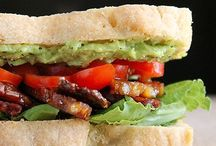 sandwiches, etc / hand-held: sandwiches, burgers, paninis, & wraps.