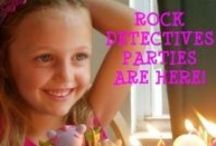 Birthday Parties ROCK / Let Mini Me Geology help you celebrate your child's birthday as a Rock Detective! We have activities, kits, and party favors to make your day special.