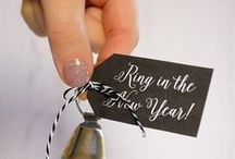 Holidays: New Year's Eve / Ring in the New Year with tasty recipes and DIY projects to help you celebrate another year over and a new one ahead!