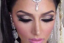 Indian makeup!