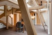 Contemporary timber homes / Using timber in a contemporary way to create stunning spaces.