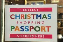 Christmas Shopping Passport 2015 / Through to 24 December 2015 shoppers can collect stickers at 24 market stalls & local shops for a chance to win fabulous prizes!
