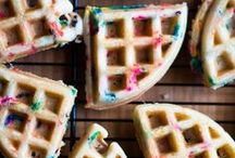 Recipes: Waffle Iron / Waffles go beyond breakfast with these sweet and savory recipes for your waffle iron!