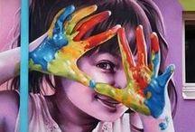 {Street Art} / Street art que inspira pelo conceito ou visual.