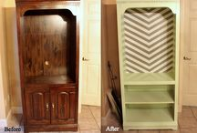 {furniture modification} / by {pilot <3 heart}