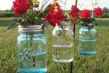 Mason Jars / Because I just NEED more things to do with mason jars haha