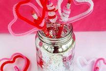 Valentine's Day Crafts / I choo-choo-choose you. #Valentines #crafts #DIY #gifts #kids #activities #ValentineCrafts