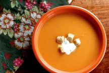 Satisfying Soups / A collection of soups from around the web.  Three pins a week only please!