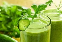Healthy Juices/Waters and Clean Eating
