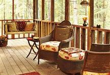 Porches, Patios, Pergolas / Make the most of them!