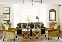 Living Rooms / by Andrea Hartley Croce