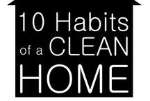 A Clean Home Makes A Happy Mom / Gettin the house clean / by Jenny-Ray Rader