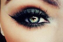 the makeup / i love a good cat eye.