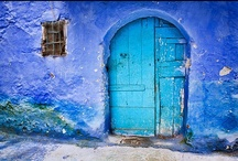 Open the Inside Door / Beautiful doors pave the way to mystery and adventure, each one holding the potential to take us where we yearn to be @ home with ourselves.