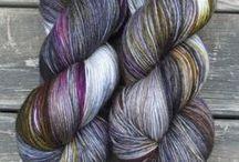 the yarns and fibers