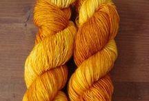my yarns and fibers // the fibertopia