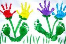 Handprint, Fingerprint, Footprint Ideas