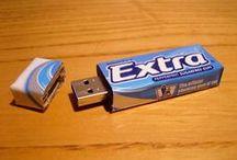 USB-pendrive / USB, memorias flash, pinchos, pendrives (o como los queráis llamar) de lo más creativos