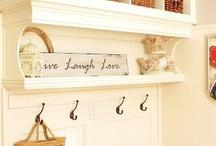Shelves/ Hooks