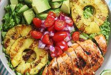 Salads (Most GF) / by Chrissy Magelssen