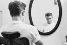 Guys / Style and hair inspirations for men | Inspirações para estilo e cabelos masculinos