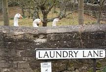 ♥ Cottage Laundry ♥