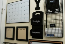 Home   Organization / Clever ways to store things.