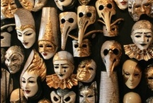 Masks,mannequins and dolls