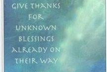 ♥ Gratitude ♥