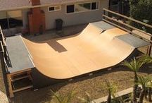 SKATEBOARD RAMPS - SKATEBOARDING IN THE BACKYARD, GARAGE, BASEMENT OR OFFICE / the best skateboard ramps to skateboarding in the Backyard, Garage, basement, house or office