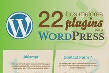 wordpress / Infografías sobre Wordpress: plugins, mejoras de posicionamiento SEO, etc...