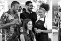 Bastidores | Salão de Beleza / Bastidores dos meus trabalhos como cabeleireiro seja com penteados, cortes ou cor. Em trabalhos externos e looks feitos no salão.