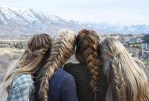 Para Inspirar... Tranças / Tranças, trançados, em detalhes ou como protagonistas do penteado.