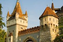 Castles, Châteaux, and Stately Homes / Castles, châteaux, and stately homes. / by I Share My Pins!