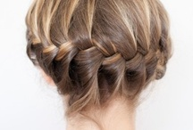 Abby: Hair Braids Buns Ponytails Hairstyles  / by Kenny Burns