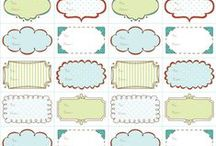 Printables / Printables / by Arianna Pand