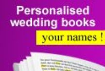 Personalised wedding books