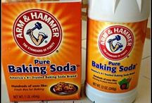 Baking Soda Vinegar WD-40 Borax Salt Dryer Sheets Coconut Oil / by Kenny Burns