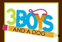 3 Boys And a Dog / From 3BoysAndADog.com / by Kenny Burns