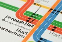 Transport Wayfinding / wayfinding design, visualizing public transit