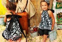 Abby: Dresses Pillowcase Bandana / by Kenny Burns