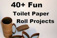 Crafts: All About Upcycling & Repurposing / Using those toilet paper rolls, old books, empty cans, Pringles canisters or anything else to make something new and exciting and fun! / by Kenny Burns